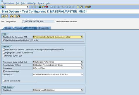 eCATT test configuration81 SAP eCATT Step by Step Guide