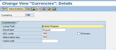sap currency detail Currency Types And Configuration Process In SAP   Introduction