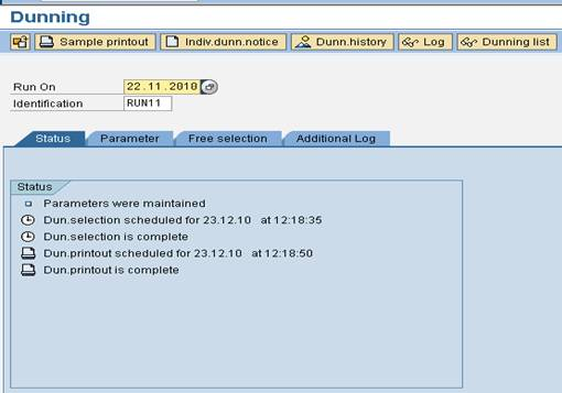 SAP Dunning config3 SAP FI Dunning Process and Configuration