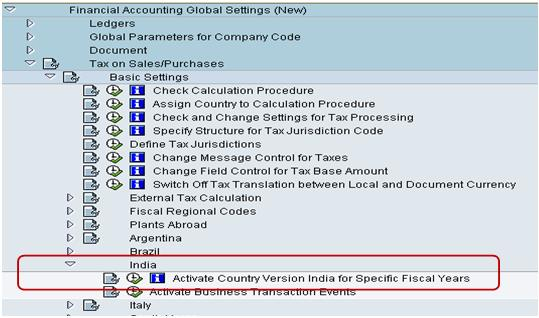 SAP Country Version India (CIN) - Basic Concepts - Get To